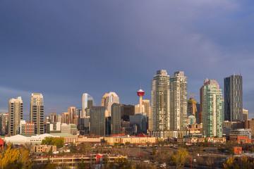 Calgary skyline in daytime