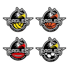 Sport mascot set