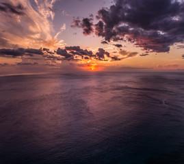 Fototapete - tropical sunset