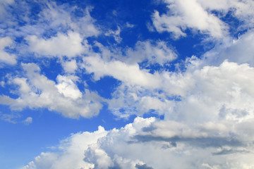 panorama sky and cloud summer time beautiful background