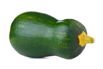 Zucchini on isolated background