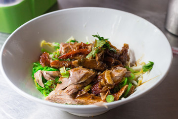 Duck Noodle : ダックヌードル・タイ料理