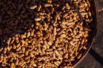 Peanuts at the street market