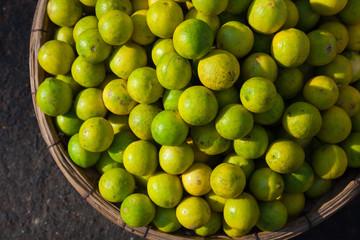 Lemons at the street market