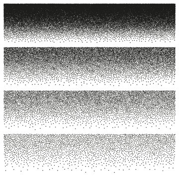 Halftone and stipple effect. EPS 10 vector