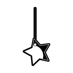 star hanging icon