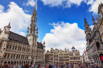 The Grand Place in Brussels, Belgium