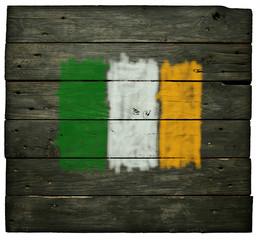 Wall Mural - irische flagge