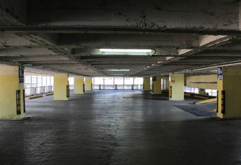 Empty parking place