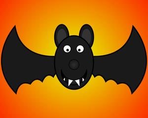 bat for halloween