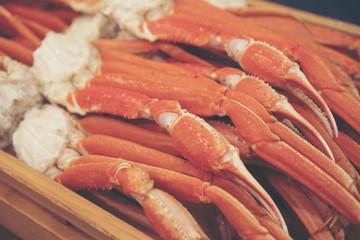 Alaska Crab Claw, seafood in Japan