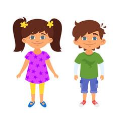 kindergarten kids characters