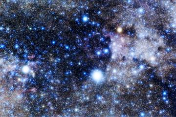 デネブ付近の星空