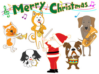 犬のクリスマスコンサート