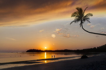 Beach Sunrise on Bintan Island, Indonesia