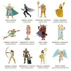 greek roman gods collection