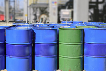 Liquid Chemical tanks .