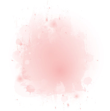 soft pink watercolor texture background. vector