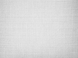 White fabric canvas texture background
