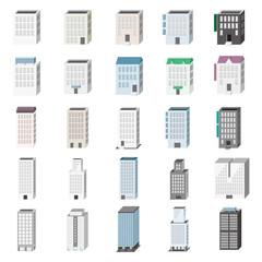 3D建物セット ビル・事務所