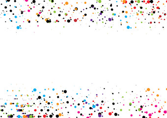 abstract dot background. Vector illustration dot  design. Circle art round backdrop.  pattern decoration. red  blue  green  black  pink color.