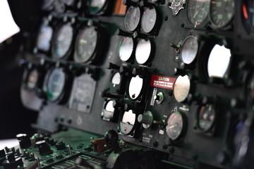 Instrumente eines Helikopters