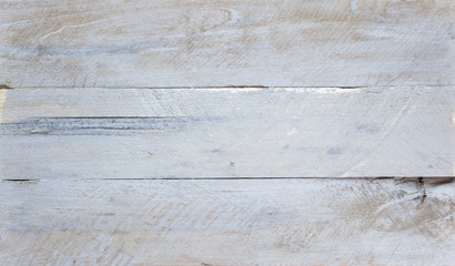 Shabby chic background - wooden boards, scuffed paint & design space.
