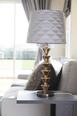 table lamp in livingroom