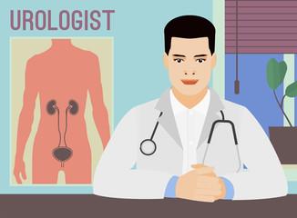 Vector urologist image
