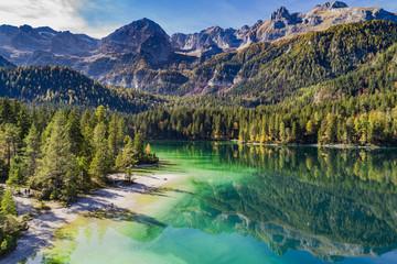 Lago di Tovel in Trentino Alto Adige