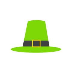 Thanksgiving Pilgrim's Green Hat