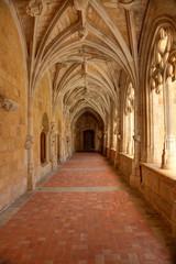 Cloitre de l'abbaye de Cadouin - Dordogne