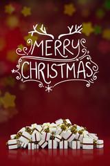 Merry Christmas Grußkarte zu Weihnachten