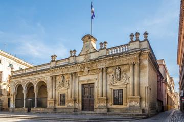 Old City hall at the Asuncion square in Jerez de la Frontera, Spain