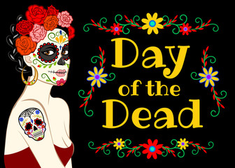 banner for Day of the Dead