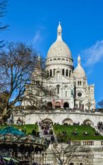 Montmartre Sacré Coeur, Paris