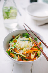 Noodles with mixed vegetable