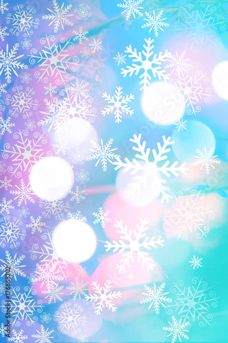 Beautiful Christmas Background Images.Beautiful Christmas Background With Bokeh Lighst And