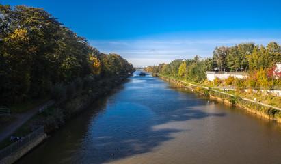 Mittellandkanal im Herbst