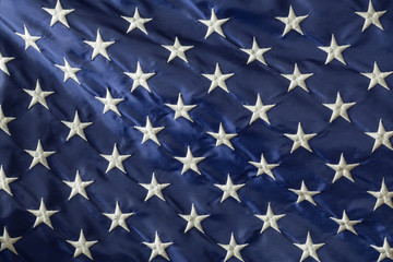 Star field of an American Flag