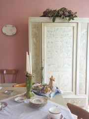 Old style dining room