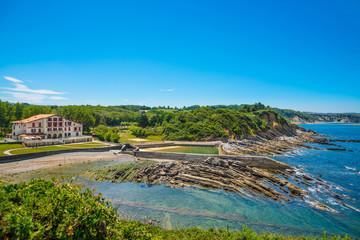 Corniche d'Urrugne, Atlantic Ocean, Basque Country - Pays Basque, Aquitaine, France