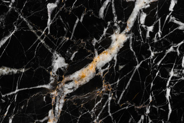black and gold marble texture pattern