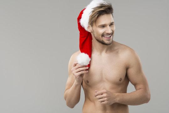 Sexy Santa Clous Man