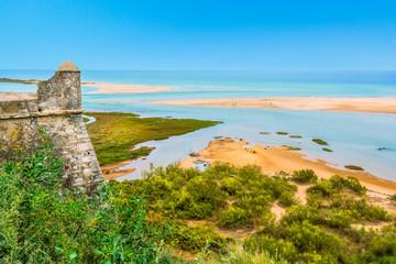 Cacela Velha, old fishermen village near Vila Real de Santo Antonio, Algarve, Portugal