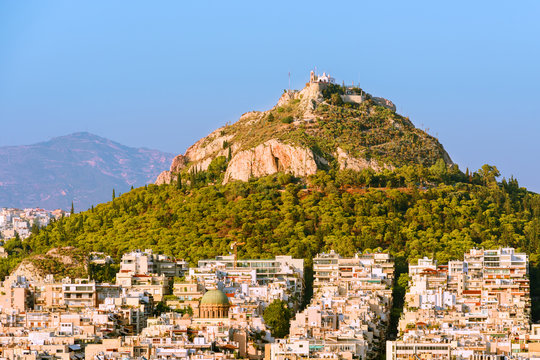 Lecabetus Hill in Athens