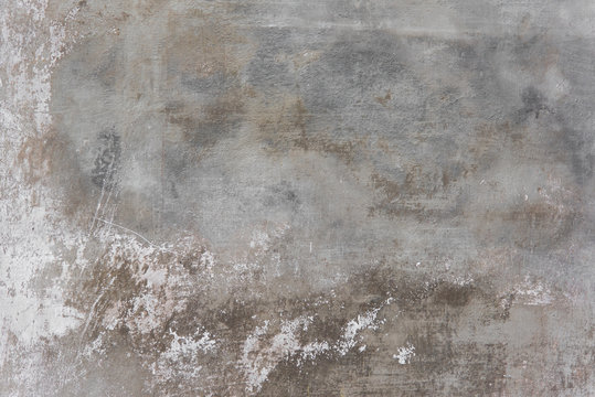 Rustic scrtached concrete wall texture background