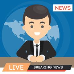 TV news anchor.