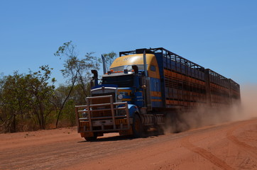 Roadtrain im Outback