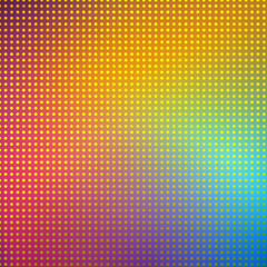 Point pixel colorful background. Vector